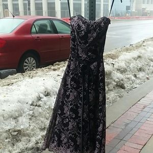 Vintage 1970's prom or dinner date dress